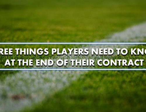 Three things players need to know at the end of their contract