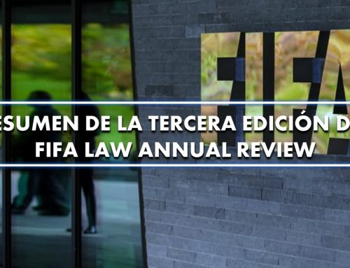 Resumen de la tercera edición del FIFA Law Annual Review