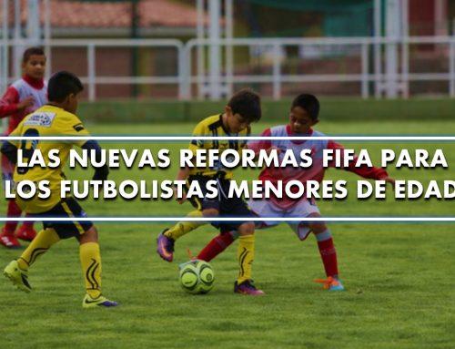 Las nuevas reformas FIFA para los futbolistas menores de edad