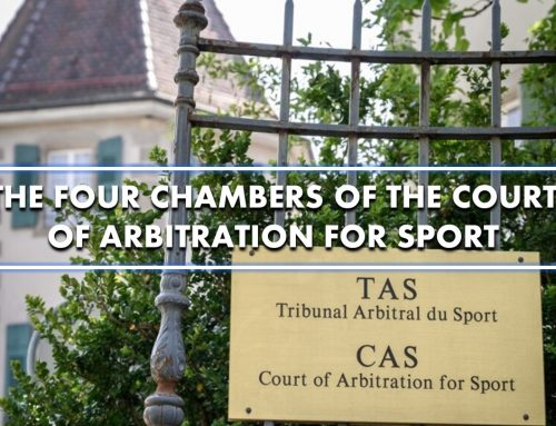 The four Chambers of The Court of Arbitration for Sport