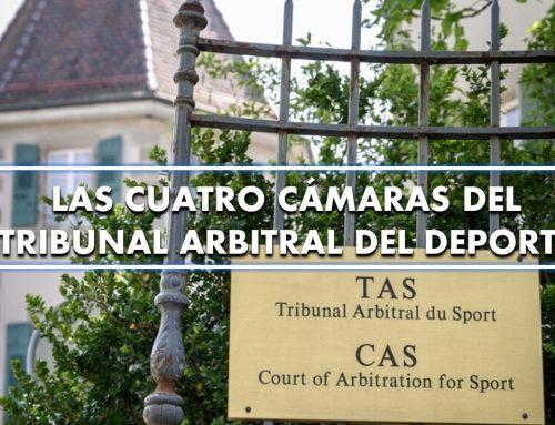 Las cuatro cámaras del Tribunal Arbitral del Deporte