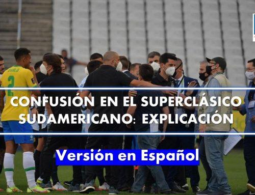 Confusión en el Superclásico Sudamericano: Explicación