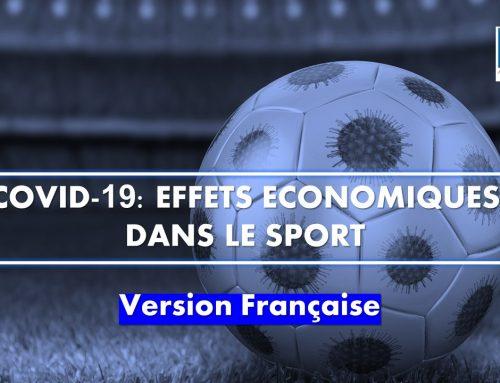 Covid-19: Effets économiques dans le sport