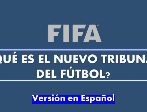¿Qué es el nuevo Tribunal del Fútbol?