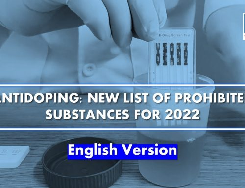 Antidoping: New list of prohibited substances for 2022